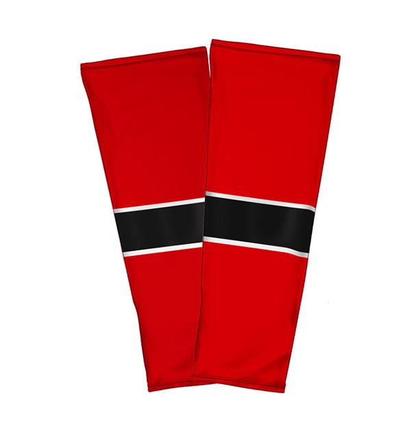 Ice-hockey-Socks-red