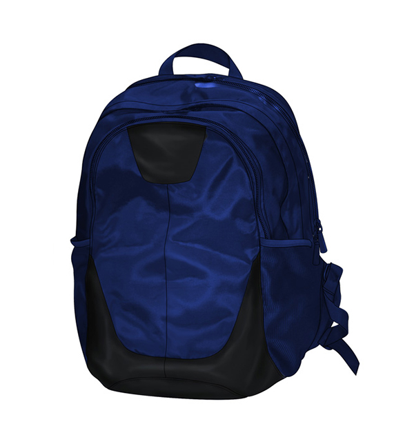 Midume-Backpack-BLUE-BLACK