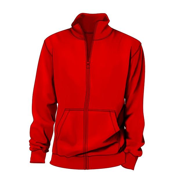 collar-sweater-red