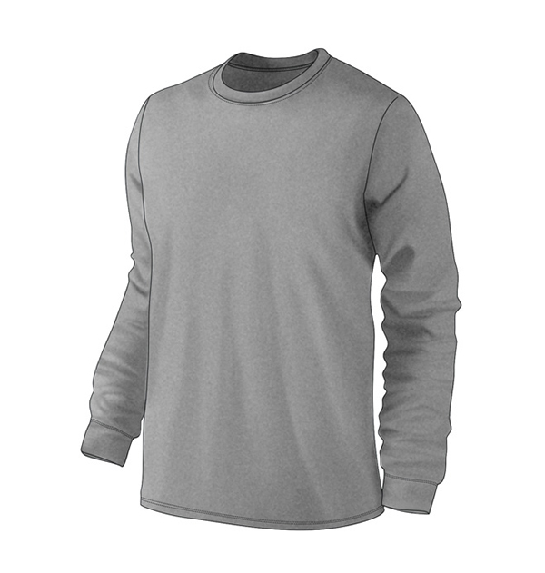 long-sleeve-t-shirt-with-cuff-heater-gray