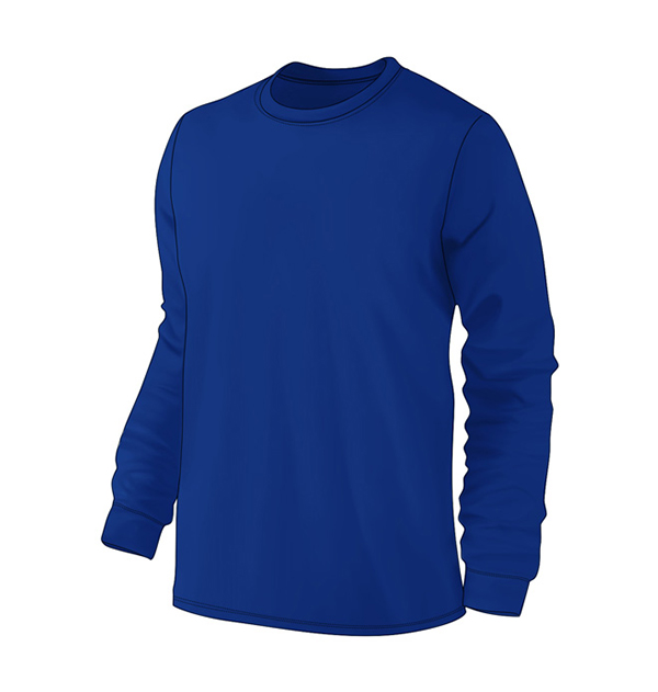 long-sleeve-t-shirt-with-cuff-royal-blue
