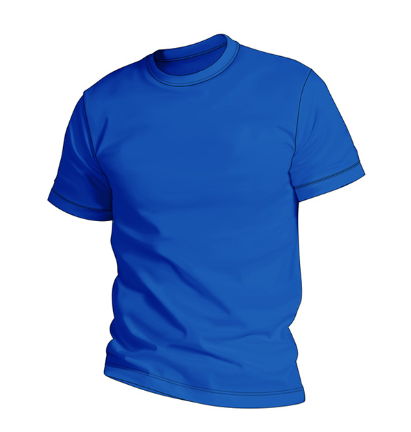 t-shirt-man-blue
